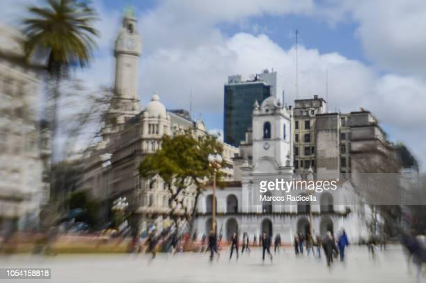 cabildo (town hall), buenos aires, capital federal, argentina - radicella bildbanksfoton och bilder