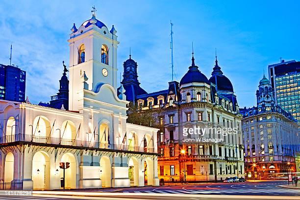 Cabildo de Buenos Aires, Plaza de Mayo