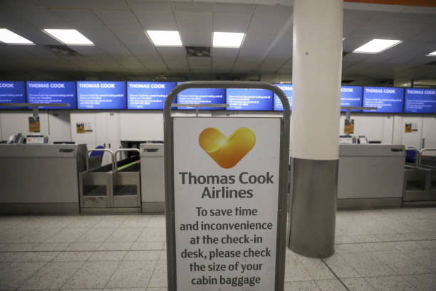 GBR: Thomas Cook Group Plc Collapse Leaves More Than 150,000 Stranded As Rescue Fails