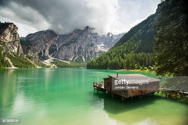 Cabin on a beautiful lake.
