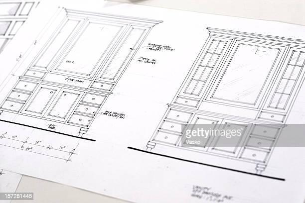 Cabinet Blueprints 1