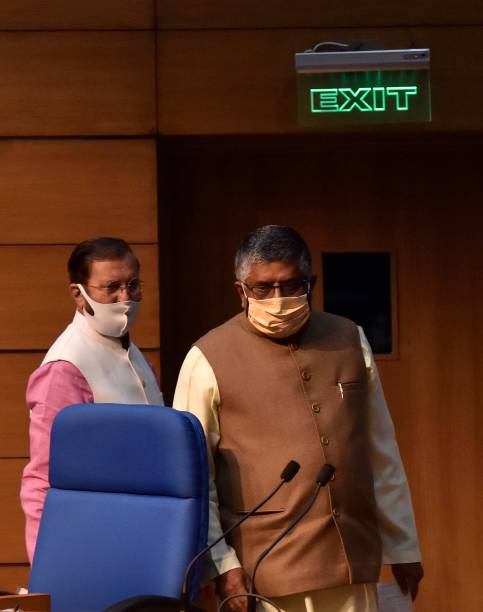 IND: Cabinet Briefing By Union Ministers Prakash Javadekar And Ravi Shankar Prasad