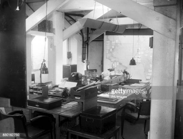 Cabinet War rooms A corner of the small map room From this room a direct line ran to the Home Guard's advance headquarters Wartime momentoes can be...