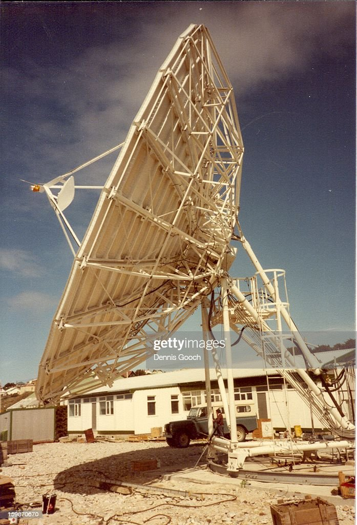 Falkland Islands Earth Satellite Station 1983