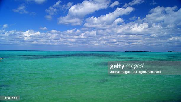 cable beach - nassau, the bahamas - cable beach bahamas stock photos and pictures