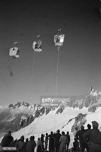 Cable Car Accident In Chamonix 9 juillet 1966 l'accident du téléphérique de la Vallée Blanche à Chamonix 3 cabines se sont détachées à 35 mètres de...