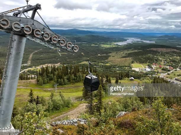 Cable car at Funäsdalen, Sweden