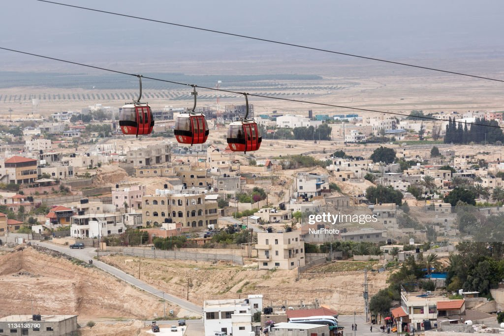 Mount Of Temptation In Jericho : News Photo