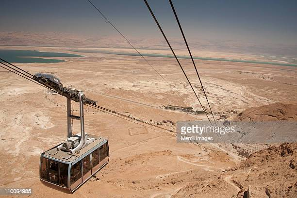 cable car, Dead Sea and desert in Israel