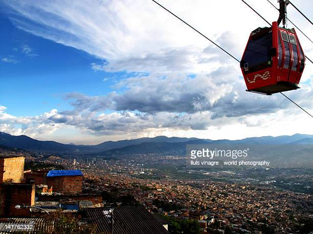 Cable car in Medellín