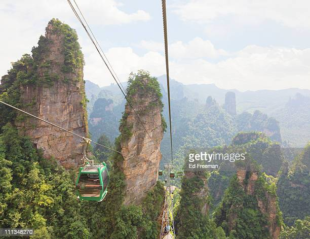 Cable Car in Zhangjiajie National Forest Park