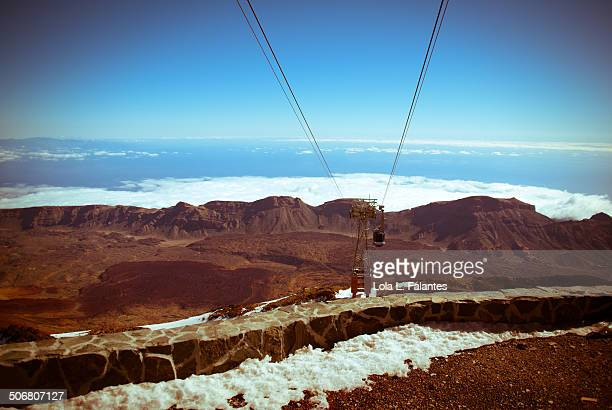 Cable car of Teide