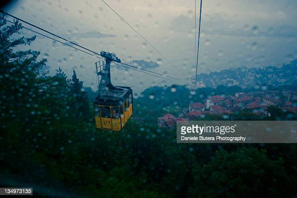 cable car - stresa stock pictures, royalty-free photos & images