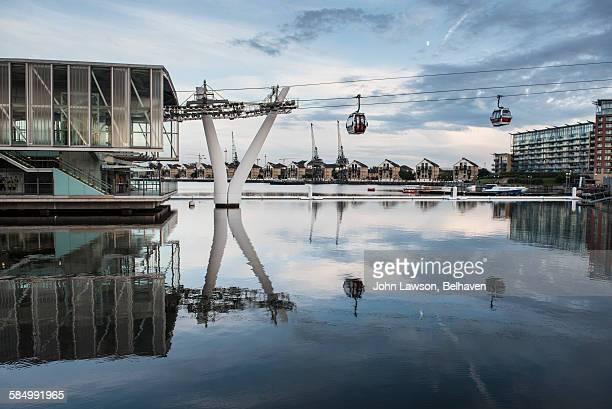 Cable car, Royal Victoria Dock, London