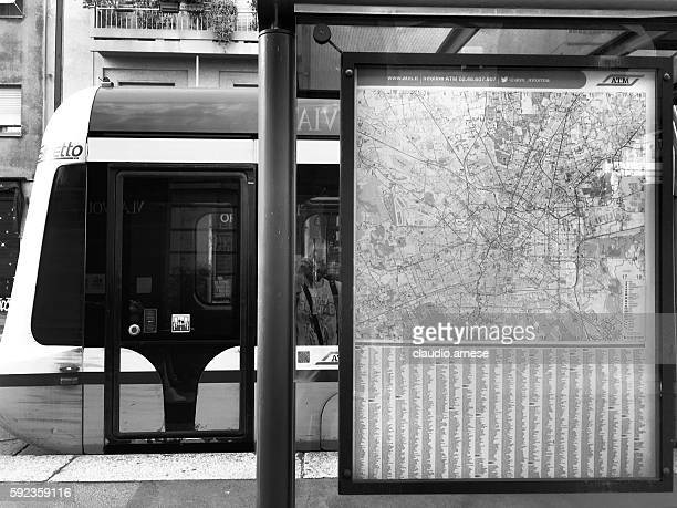 Tram stazione di