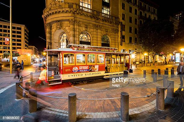 Cable Car System in San Francisco, California