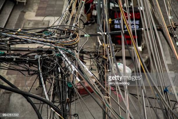 cable chaos - grinder sandwich stock pictures, royalty-free photos & images