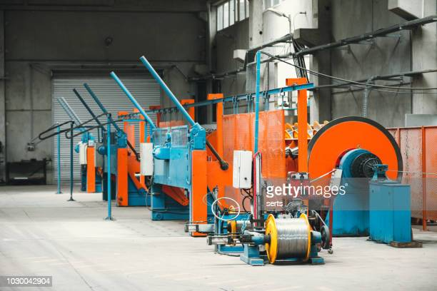 Cable manufacturing machine in steel industry