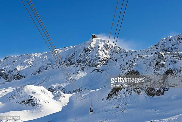 Cable-car at l'Alp d'Huez
