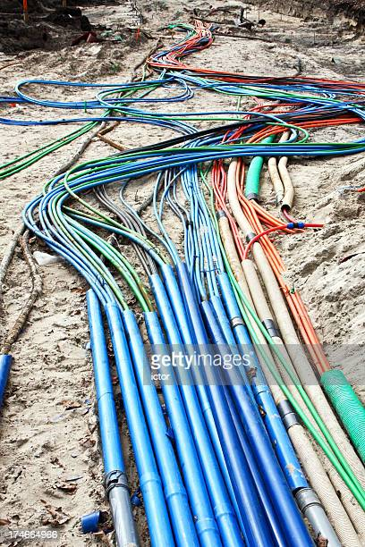 Cables underground