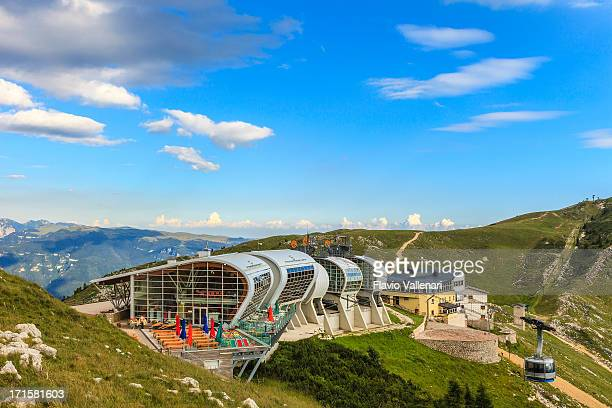 Cableway station on Monte Baldo, Italy