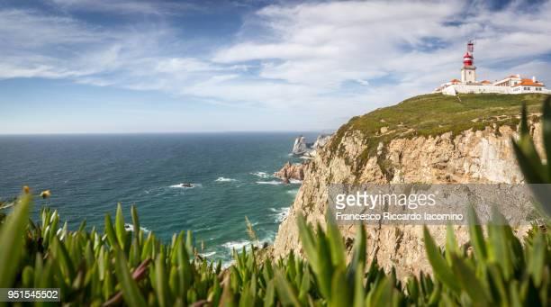 cabo da roca, portugal - iacomino portugal foto e immagini stock