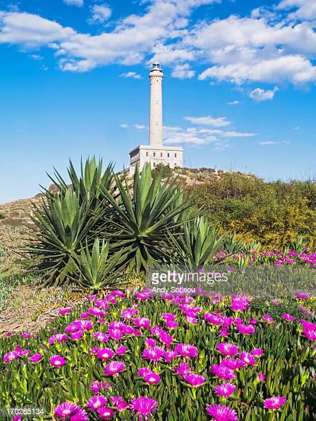 cabo de palos lighthouse - ムルシア市 ストックフォトと画像