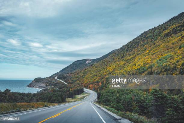 Cabot Trail, Cape Breton Highlands National Park,Nova Scotia, Canada.