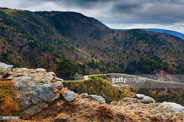 Cabot Trail in Cape Breton Highlands, Nova Scotia