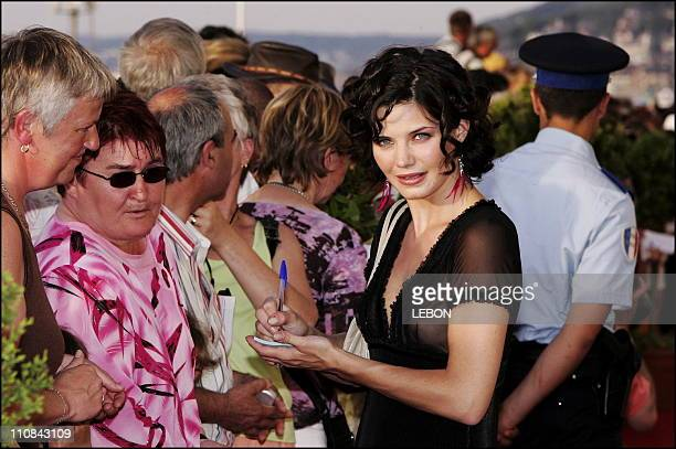 Cabourg Romantic Film Festival Closing Ceremony In Cabourg France On June 10 2006 French actress Delphine Chaneac