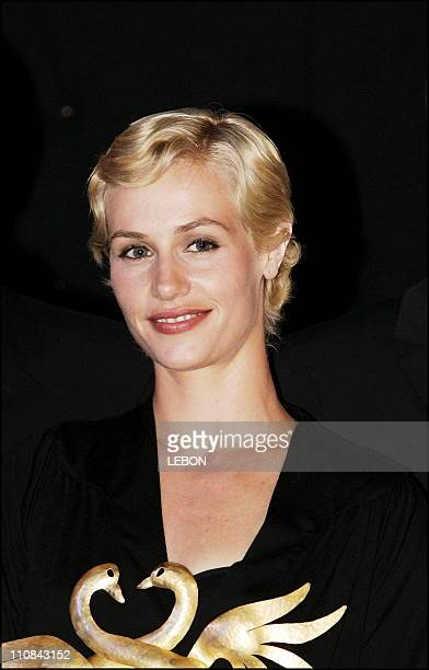 Cabourg Romantic Film Festival Closing Ceremony In Cabourg France On June 10 2006 Cecile de France Swann d'Or for best actress