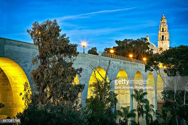 Cabrillo Bridge, Balboa Park, San Diego, CA