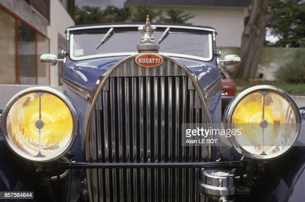 Cabriolet Bugatti 'Chaperon' de 1935 renove par Marceau Convenant en avril 1991 a La Baule France