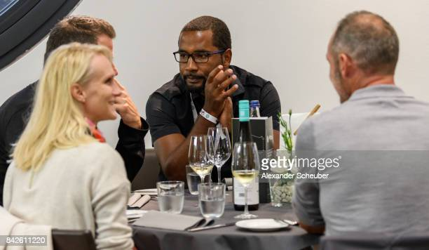Cacau attends the Club of former national players meeting during the FIFA 2018 World Cup Qualifier between Germany and Norway at MercedesBenz Arena...