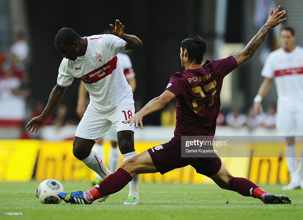 VfB Stuttgart v HNK Rijeka - UEFA Europa League Play-Offs: Second Leg : News Photo
