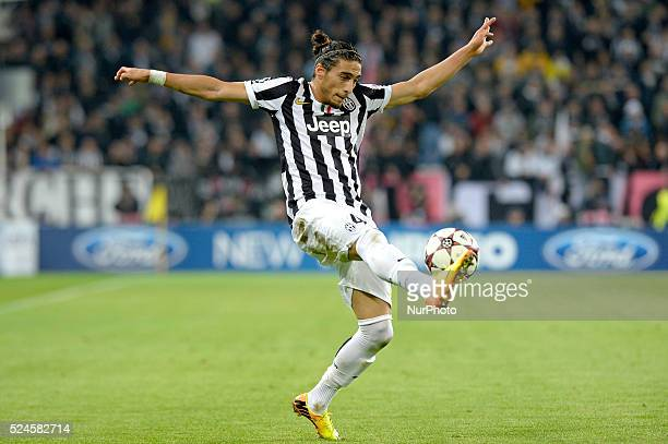 Caceres during the Champions League match between Juventus and Real Madrid at Juventus Stadium on November 5 2013 in Torino Italy Photo Filippo...