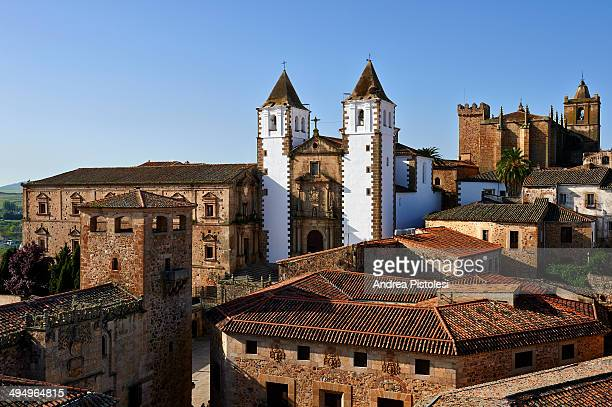 caceres, extremadura, spain - caceres stock pictures, royalty-free photos & images