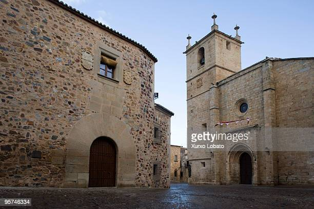 Caceres historic city of world heritage of humanity and way of saint James 16th November 2009