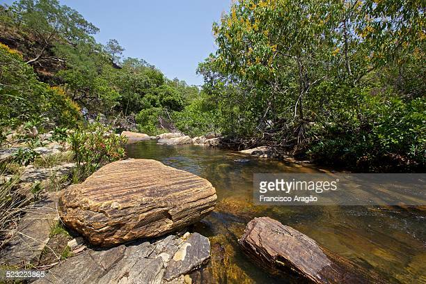 cachoeira do lázaro - cerrado stock pictures, royalty-free photos & images