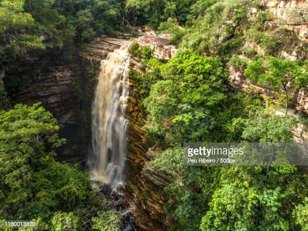 cachoeira do mosquito, lençóis, chapada diamantina - parco nazionale di chapada diamantina foto e immagini stock