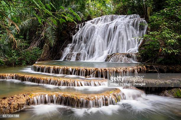 cachoeira em bonito - mato grosso do sul state stock pictures, royalty-free photos & images