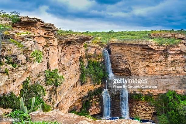 cachoeira ferro doido - parco nazionale di chapada diamantina foto e immagini stock