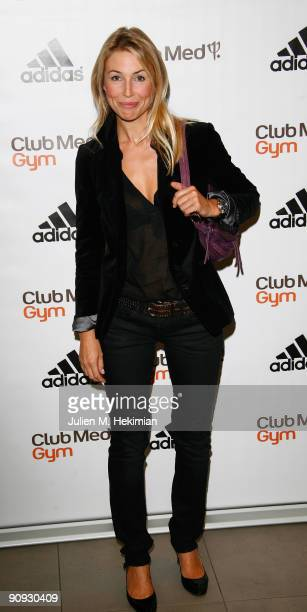 Cachou attends the 'Club Med Gym' birthay celebration at Adidas Performance Store ChampsElysees on September 17 2009 in Paris France