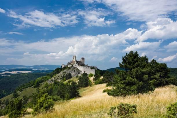 Cachtice castle, Nove Mesto nad Vahom district, Trencin region, Slovakia