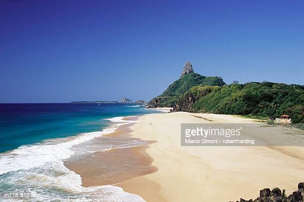 Cacimba do padrea beach, Parque Nacional de Fernando de Noronha, Fernando de Noronha, Pernambuco, Brazil, South America