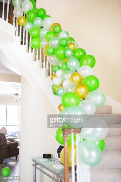Cactus and Succulent Baby Shower Balloon Decor