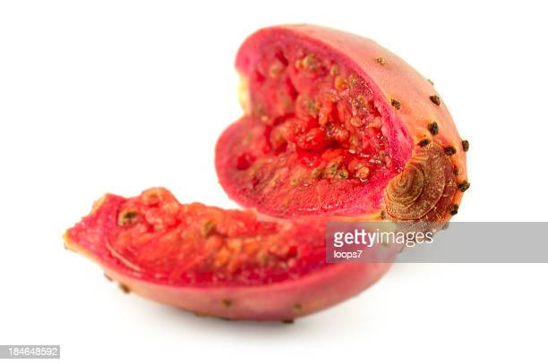 cactus pear - prickly pear cactus stock photos and pictures