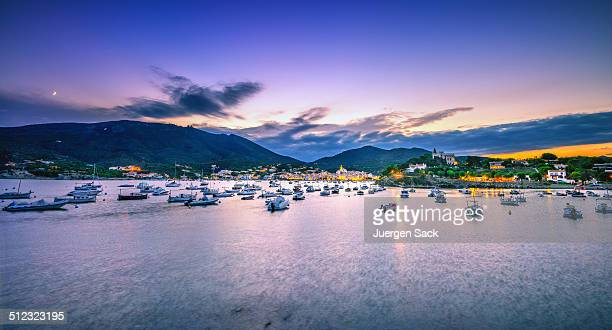 Cadaques at dusk - Costa Brava, Spain