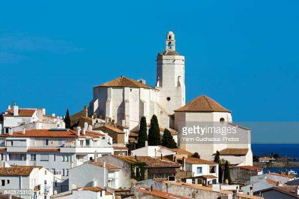 cadaques, costa brava, catalonia, spain - cadaques stock pictures, royalty-free photos & images