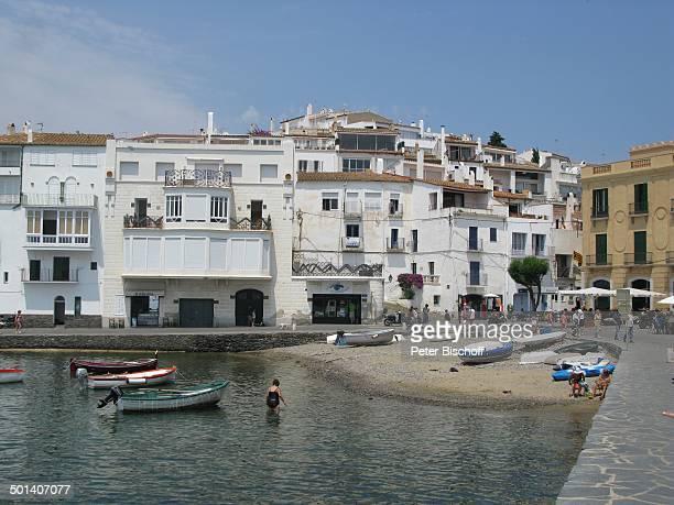 Cadaques Costa Brava Katalonien Spanien Europa Bucht Strand Meer Mittelmeer Boote Reise BB DIG PNr 416/2013